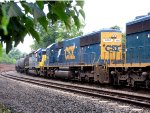 CSX 8666 and 8830